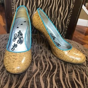 Naughty Monkey Pumps Heels Shoes Size 9
